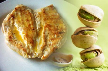 receta de pechugas de pollo con pistachos