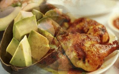 receta ensalada aguacate y pollo