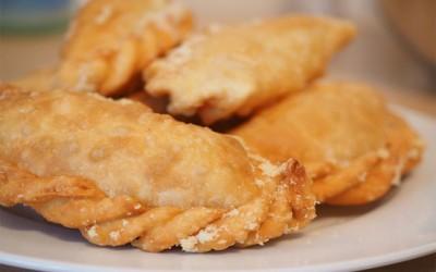 Receta empanada de pollo
