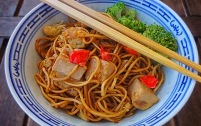 Ideas de recetas orientales con pollo