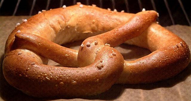 receta pretzel original